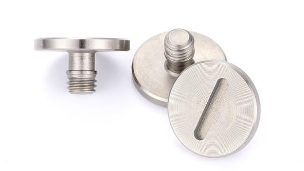 苏州客户定制大平头一字CD纹螺丝案例-铭泽紧固件生产厂家