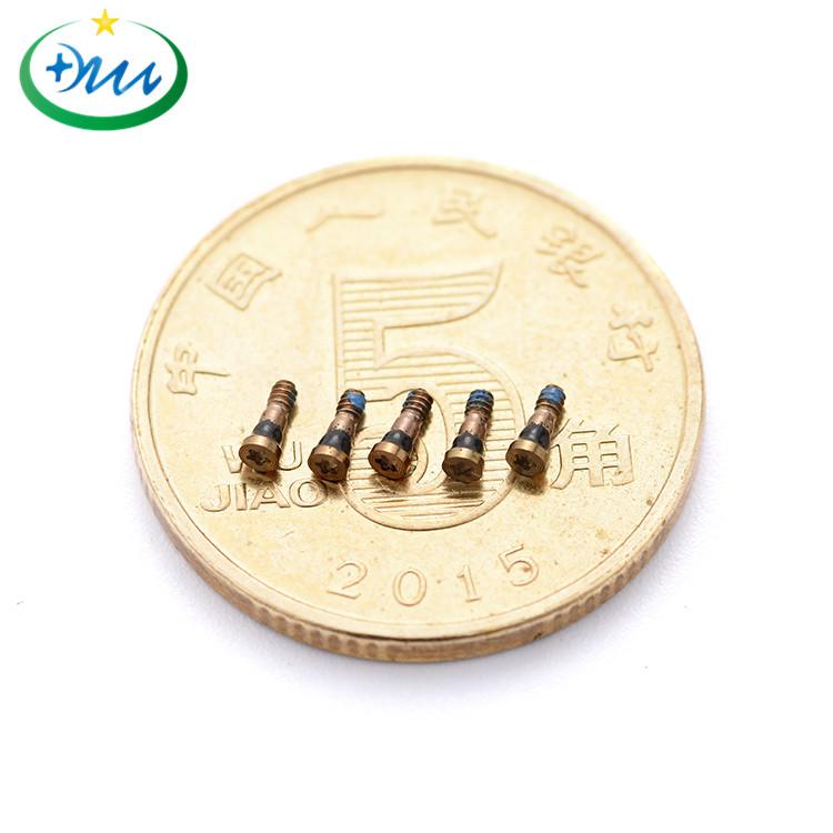 M1.2梅花微型铜螺丝3