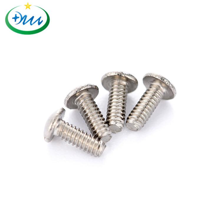 大扁头一字M1.0不锈钢微型螺丝2