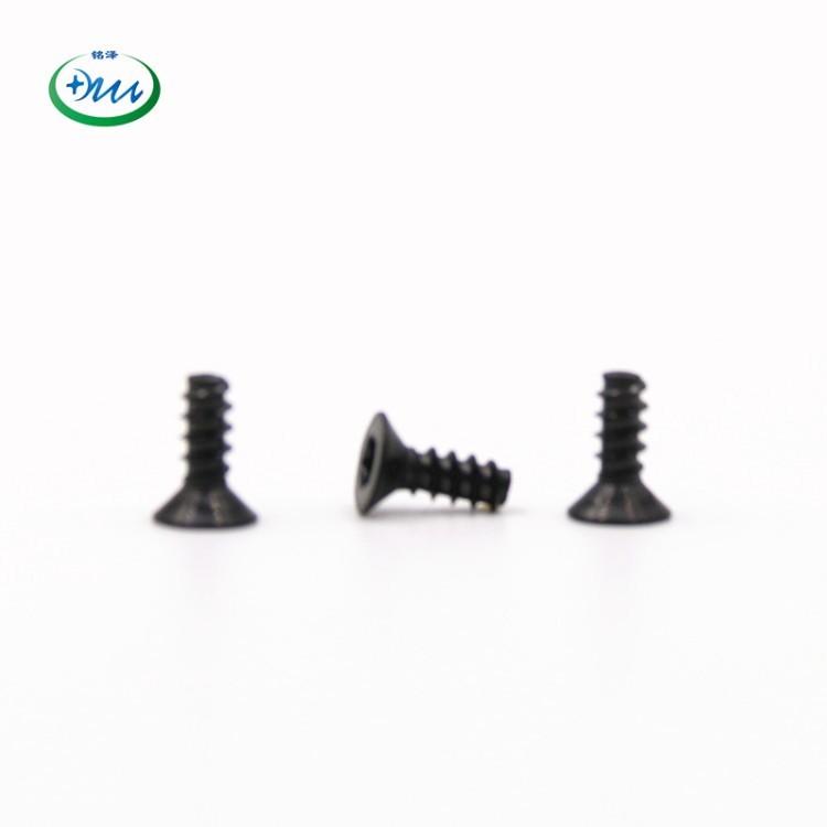沉头梅花M2.9-7.5不锈钢304PVD黑色螺丝