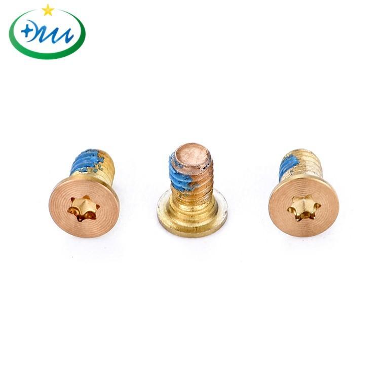 铜CD纹防松螺丝