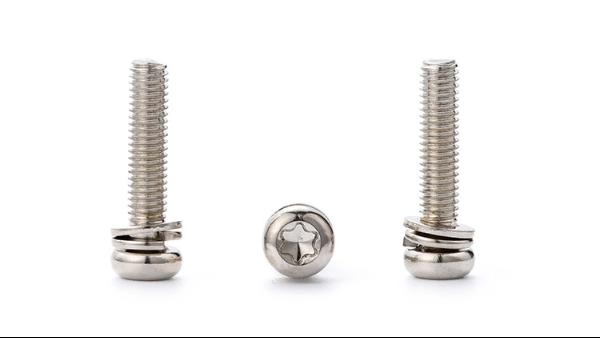不锈钢组合螺丝的生产工艺流程你了解吗?