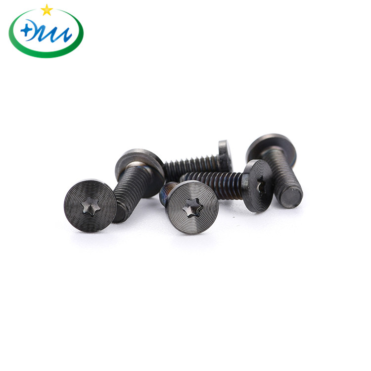 平头梅花碳钢黑锌CD纹螺丝2